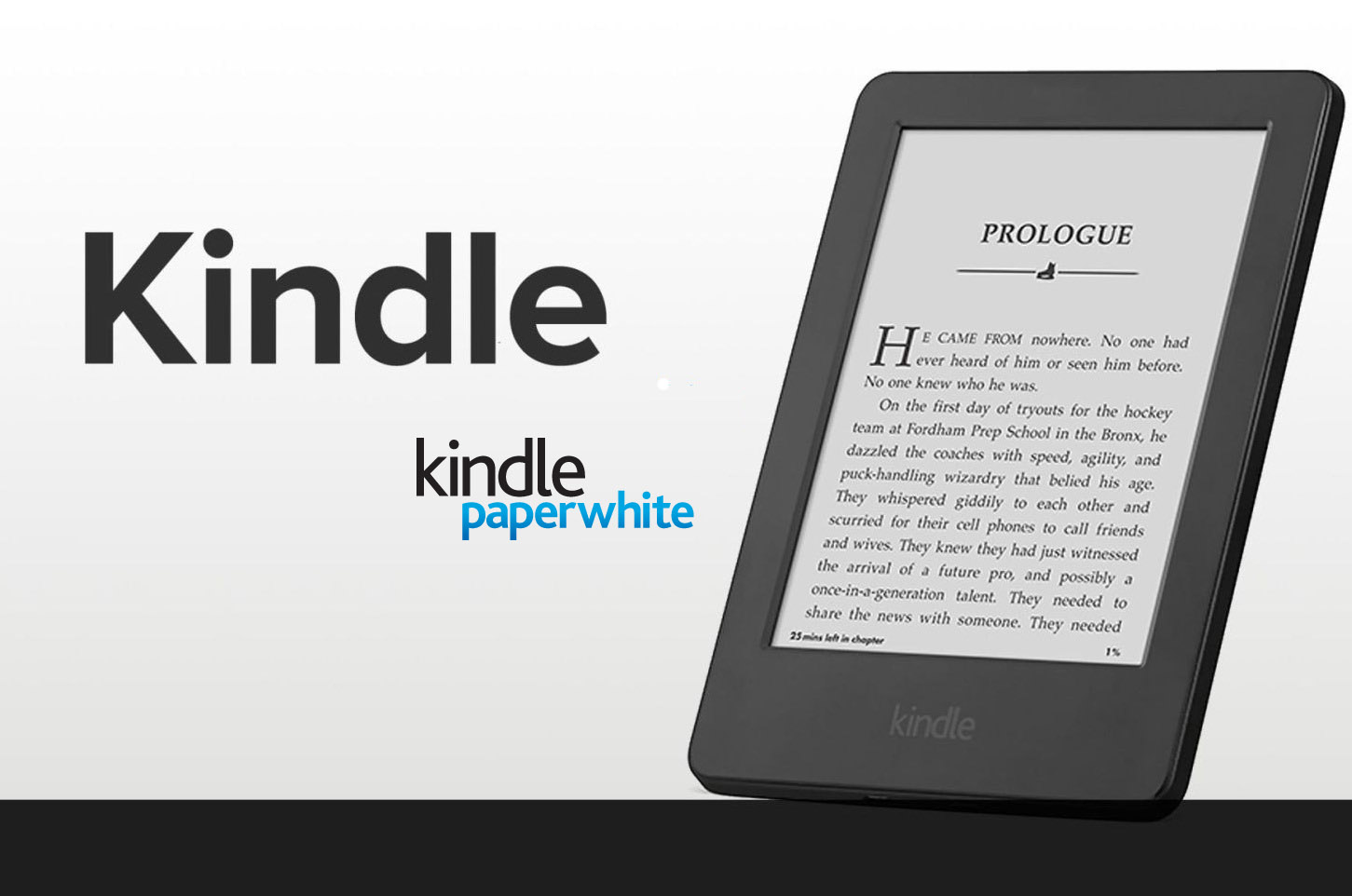 how to open kindle paperwhite